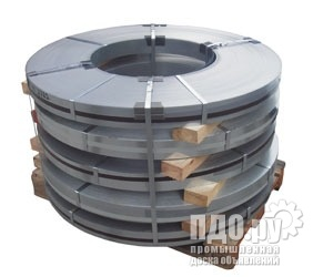 Штрипс, лента  размером от 20 мм из стали 0,45-3,0 мм